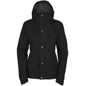 Bonfire Madison Womens Insulated Snowboard Jacket, Black, medium
