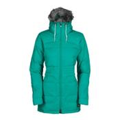 Bonfire Halifax w/Faux Fur Womens Insulated Snowboard Jacket, Wildwoods, medium