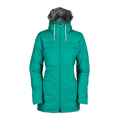 Bonfire Halifax w/Faux Fur Womens Insulated Snowboard Jacket, Wildwoods, viewer