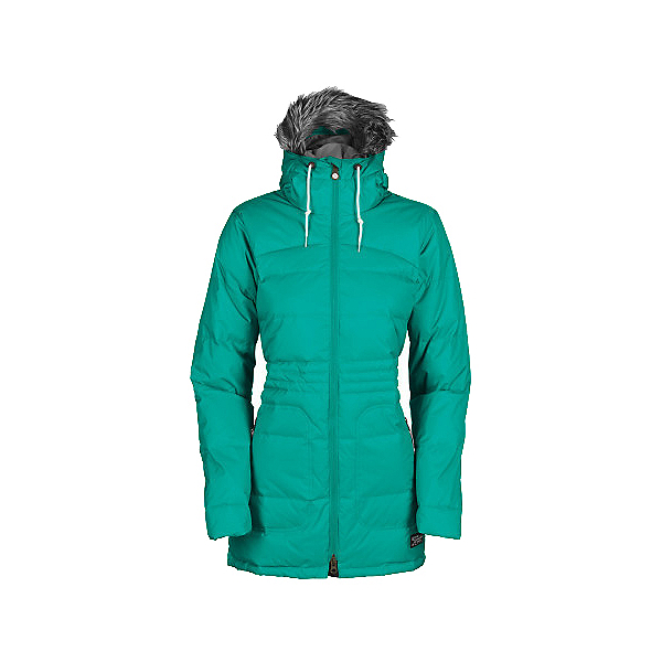 Bonfire Halifax Womens Insulated Snowboard Jacket, Wildwoods, 600