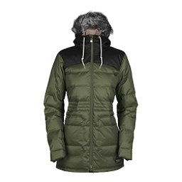 Bonfire Halifax Womens Insulated Snowboard Jacket, Bunker-Black, 256