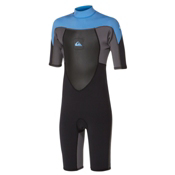 Quiksilver 2mm Syncro SSL Spring Kids Shorty Wetsuit 2015, , medium