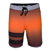 Hurley Phantom Block Party Destroy Board Shorts, Total Orange, medium