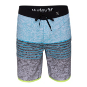 Hurley Phantom Flight Board Shorts, Blue Lagoon, medium