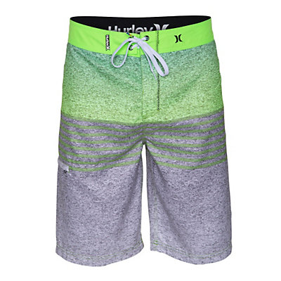 Hurley Flight Core Boardshorts, Flash Lime, viewer