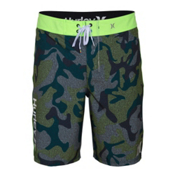 Hurley Phantom Assault Board Shorts, Teal, medium