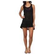 Body Glove Ariel Dress Bathing Suit Cover Up, Black, medium