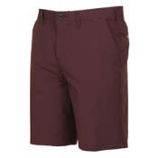 Hurley Dri-Fit Chino 22 Inch Shorts, Mahogany, medium
