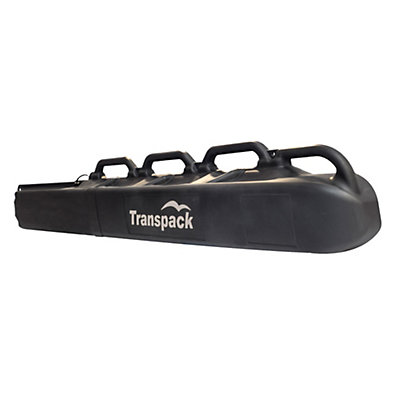 Transpack Hard Case Shuttle Ski Bag 2017, Black-Silver, viewer