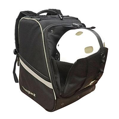 Transpack Boot Vault Pro Ski Boot Bag, Black-Silver Electric, viewer