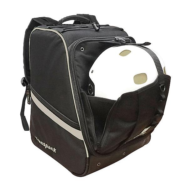 Transpack Boot Vault Pro Ski Boot Bag, Black-Silver Electric, 600