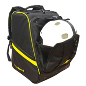 Transpack Boot Vault Pro Ski Boot Bag, Black-Yellow Electric, medium