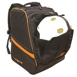 Transpack Boot Vault Pro Ski Boot Bag, Black-Orange Electric, 256