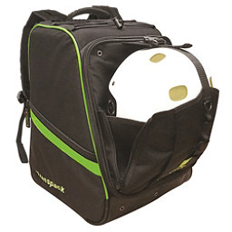 Transpack Boot Vault Pro Ski Boot Bag, Black-Lime Electric, 256
