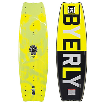 Byerly Blunt Wakeboard, Yellow, viewer