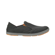 OluKai Nohea Mesh Mens Shoes, Dark Shadow-Dark Shadow, medium