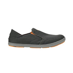 OluKai Nohea Mesh Mens Shoes, Dark Shadow-Dark Shadow, 256