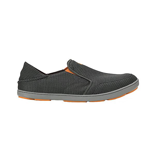 OluKai Nohea Mesh Mens Shoes, Dark Shadow-Dark Shadow, 600