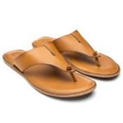 OluKai Hema Womens Flip Flops, Mustard-Mustard, medium