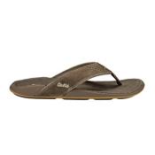 OluKai Nui Mens Flip Flops, Clay-Clay, medium