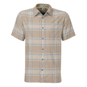 The North Face Pacific Coast Short Sleeve Shirt, Dune Beige, medium