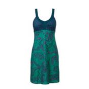 The North Face Cadence Dress, Teal Blue Print, medium