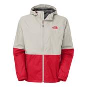 The North Face Allabout Mens Jacket, Moonstruck Grey-TNF Red, medium
