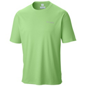 Columbia PFG Zero Rules Short Sleeve Shirt, Jade Lime, medium