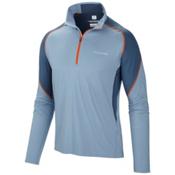 Columbia Freeze Degree II Half Zip Shirt, Dark Mirage-Whale, medium