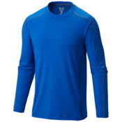 Mountain Hardwear CoolHiker Long Sleeve Shirt, Azul, medium