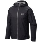 Mountain Hardwear Plasmic Ion Mens Jacket, Shark, medium