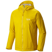 Mountain Hardwear Plasmic Ion Mens Jacket, Electron Yellow, medium
