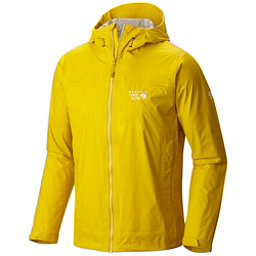 Mountain Hardwear Plasmic Ion Mens Jacket, Electron Yellow, 256