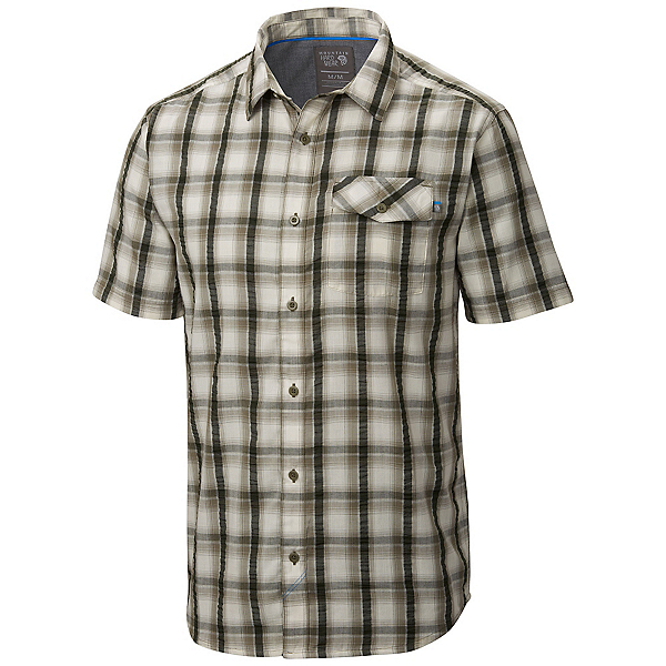 Mountain Hardwear Gilmore Mens Shirt, Stone Green, 600