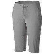 Columbia Anytime Outdoor Long Womens Shorts, Light Grey, medium