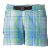 Columbia Cross On Over II Womens Shorts, Harbor Blue Plaid, medium
