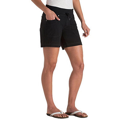 KUHL Mova 6in Womens Shorts, Raven, viewer