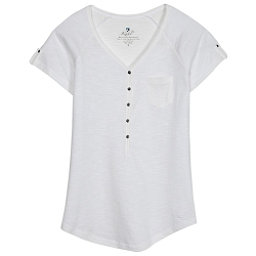 KUHL Bella Short Sleeve Womens Shirt, White, 256
