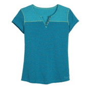 KUHL Veloce Short Sleeve Womens T-Shirt, Aqua, medium