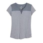 KUHL Veloce Short Sleeve Womens T-Shirt, Ash, medium