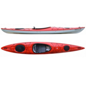 Hurricane Sojourn 135 Light Touring Kayak 2015, Red, medium