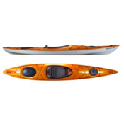 Hurricane Sojourn 146 Light Touring Kayak 2015, Mango, medium