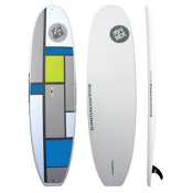 Boardworks Surf Joyride 9' 11 Recreational Stand Up Paddleboard, Blue-Grey-Green, medium