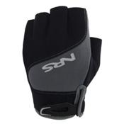 NRS Guide Paddling Gloves, Black-Gray, medium
