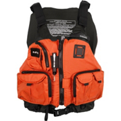 NRS Chinook Fishing Kayak Life Jacket 2016, Orange, medium