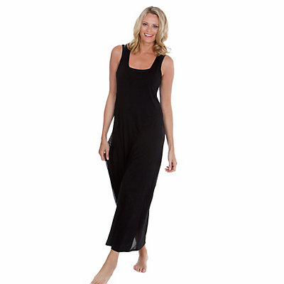 Dotti Hole In One Maxi Dress Bathing Suit Cover Up, Black, viewer