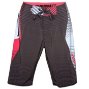 Liquid Force Simmons Board Shorts, Black, medium