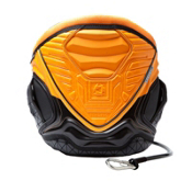 Mystic Warrior Waist Kiteboarding Harness, Orange, medium