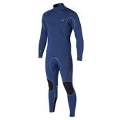 Mystic Voltage 5/4 Back-Zip Full Wetsuit 2015, Navy, medium