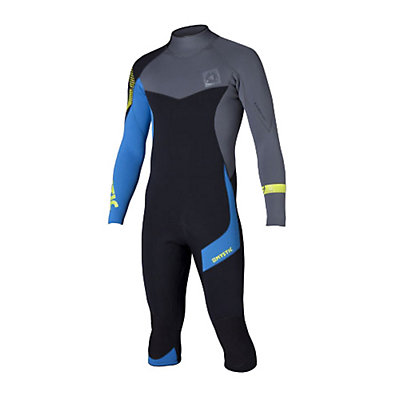 Mystic Crossfire 4/3 Back-Zip Shorty Wetsuit 2015, Blue, viewer